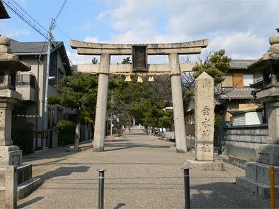 垂水神社は旱魃時に霊験があった...